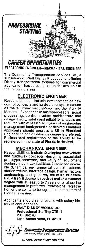 97 best Disney Magazine Ads (non movie specific) images on - disney mechanical engineer sample resume