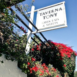Excellent Spot!  Taverna Tony - Arguably the best Greek food in Los Angeles County is tucked inside the Malibu Country Mart.