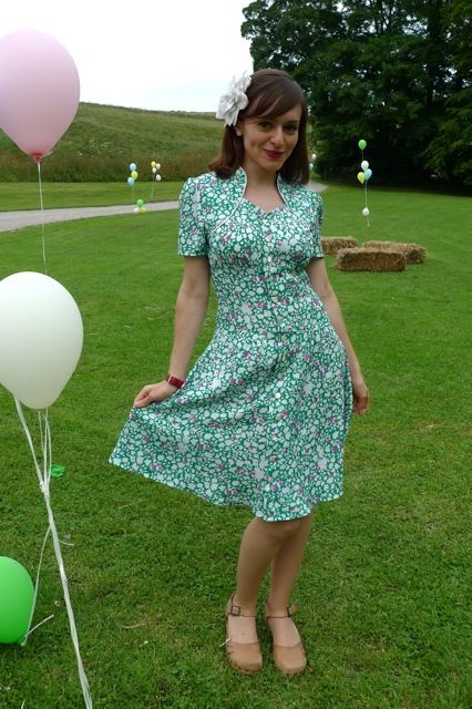 View details for the project Jasmine Green Tea Dress on BurdaStyle.