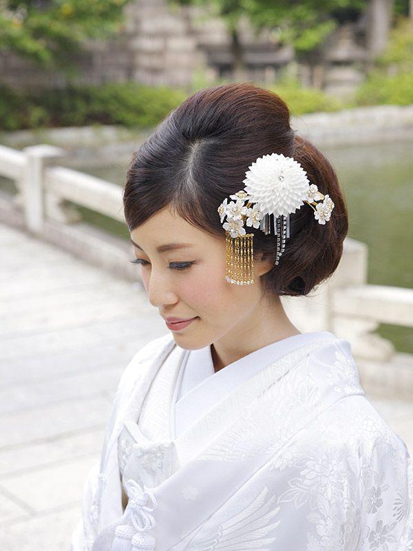 住吉大社吉祥殿 | 衣裳・美容 | 美容 | 和装ヘアメイク | 大阪の住吉大社で神前結婚式