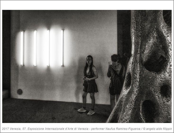 2017 Venezia, 57. Esposizione Internazionale d'Arte - performer Naufus Ramirez-Figueroa