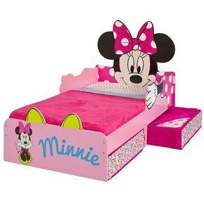 Cama Minnie De Madera Con Cajones 509miz Colch 211 N No