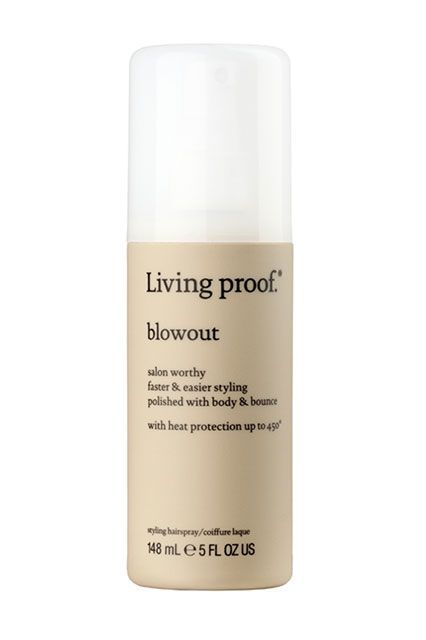 Do you flat-iron your locks? This is a great option for you, because it helps to protect hair from temperatures up to 450 degrees. In fact, this lightweight mist provides body, shape, and grip in just a few sprays, making the styling process so much easier.Living Proof Blowout, $24, available at Ulta Beauty. #refinery29 http://www.refinery29.com/parlor-jeff-chastain-best-sellers#slide-5