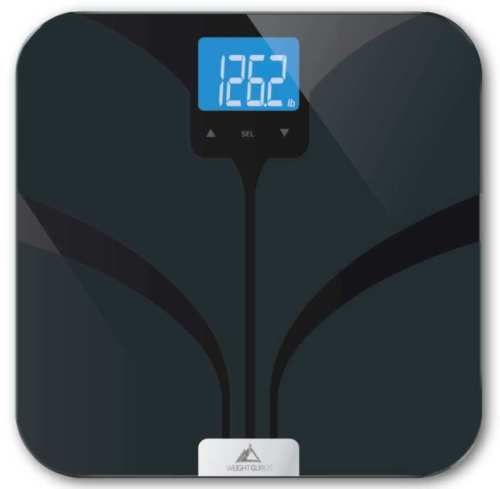NEW-Weight-Gurus-Bluetooth-Smart-Connected-Body-Fat-Scale-with-Large-Backlit-LCD