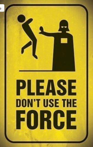 #darthvader #force #streetsign #starwars