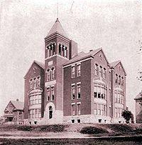 レキシントン神学校(当時はカレッジ・オブ・バイブル)、1904年-ケンタッキー州 - Wikipedia
