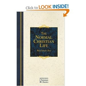 "Living the Christian life isn't what most people think it is. This book taught me to ""stop trying"" to be a Christian."