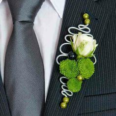 Image result for floral wire boutonniere