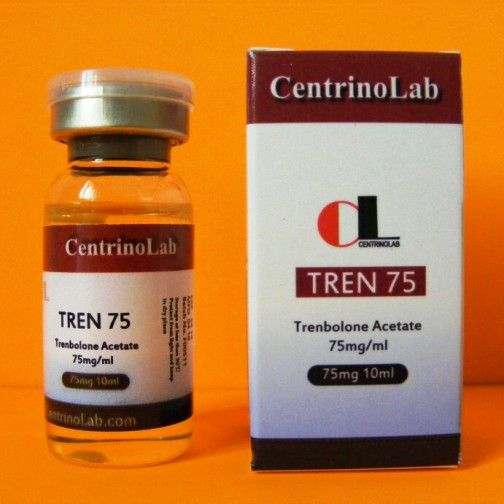 Centrino Labs trenbolone acetate injection vial.