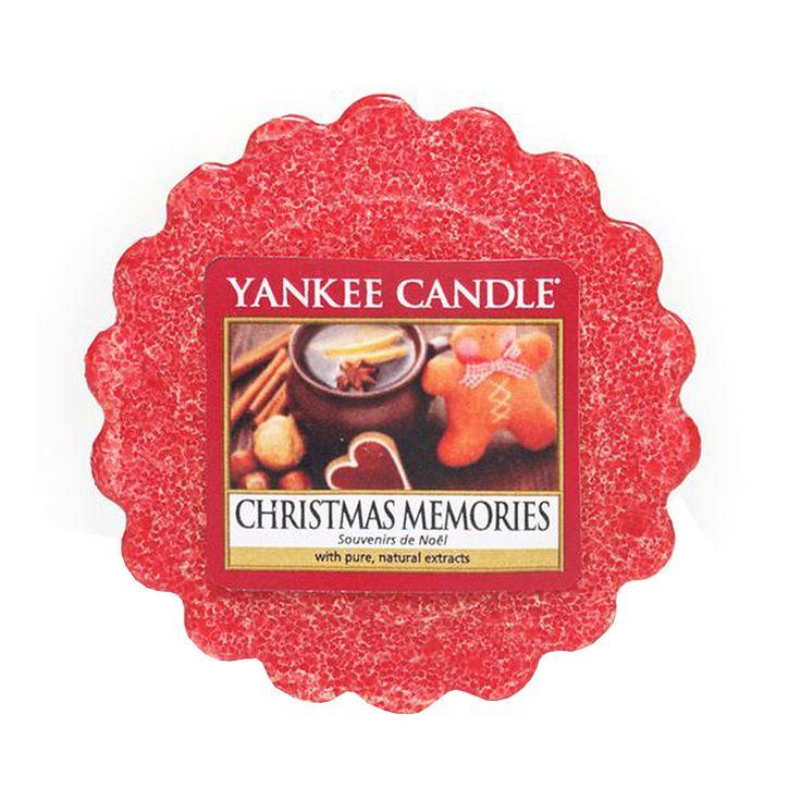 Yankee Candle - vonný vosk Christmas Memories   Svět bytových vůní