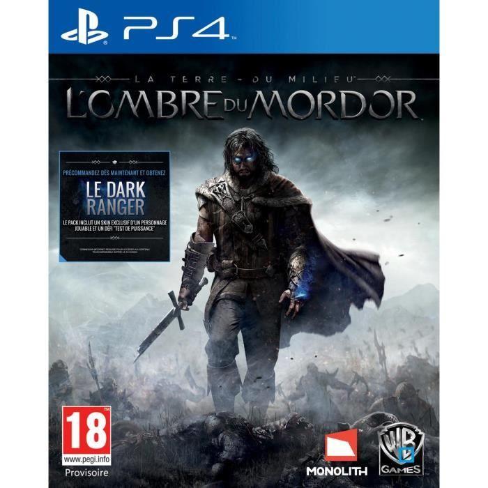 Jeux Video pas cher Priceminister, promo La Terre Du Milieu - L'ombre Du Mordor sur PS4 prix promo Priceminister 61.40 € TTC