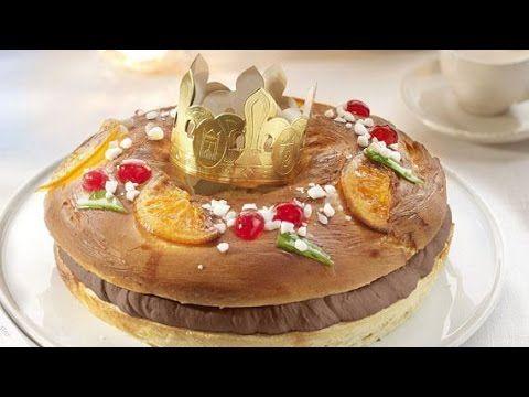 Roscón de Reyes con chocolate negro - Videorecetas - YouTube
