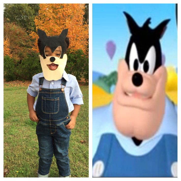 Pete from Mickey Mouse Clubhouse costume!