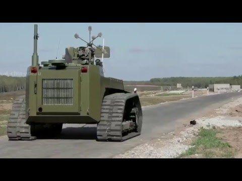 Russian combat robot Nerehta - YouTube