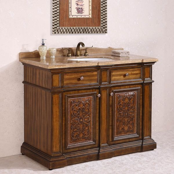 Bathroom Cabinets 48 Inch 129 best antique bathroom vanities images on pinterest | antique