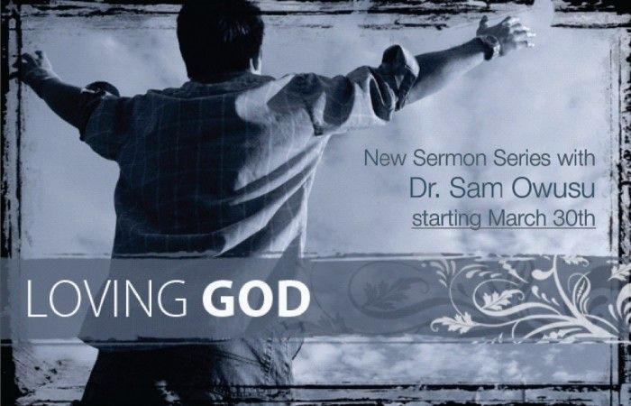 Loving God - New Sermon series. Catch it online http://calvaryonline.ca/surrey/listen_sermons/