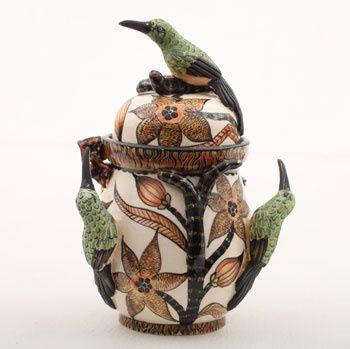 ≗ Feathered Nest of Hope ≗ bird feather & nest art jewelry & decor - Bird Tureen