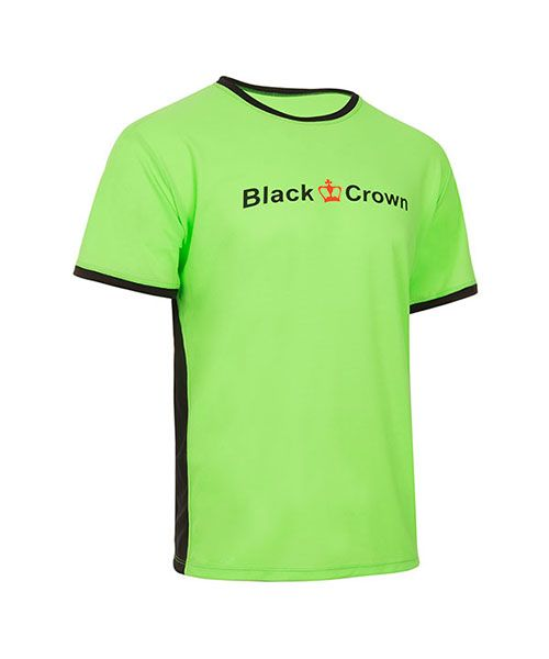 CAMISETA BLACK CROWN LET VERDE NEGRO