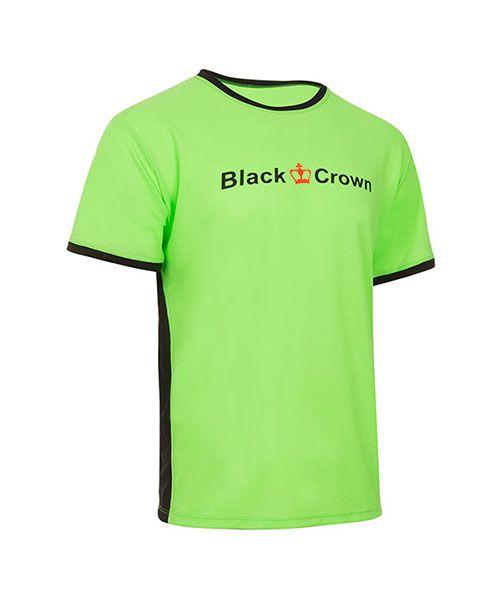 CAMISETA BLACK CROWN LET VERDE NEGRO