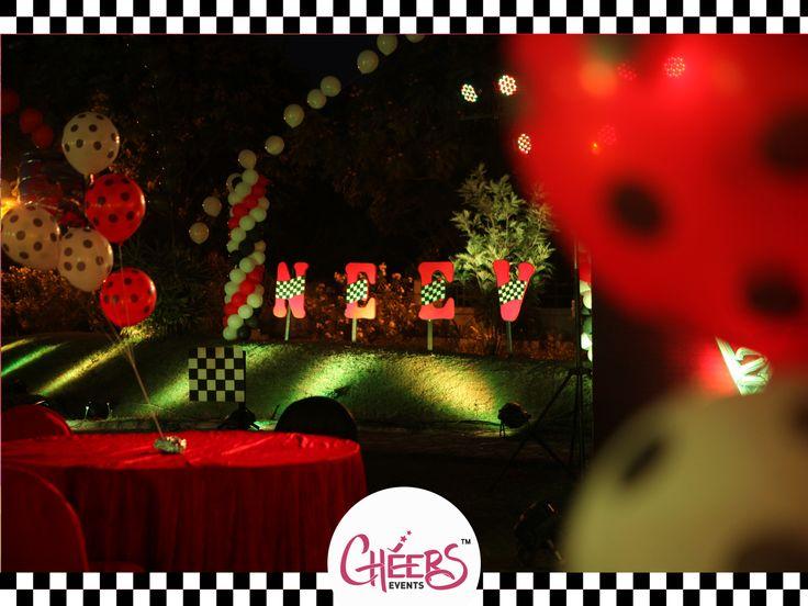 Car Theme Birthday Party