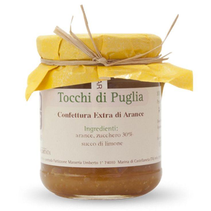 CONFETTURA EXTRA DI ARANCE GR 260 TOCCHI DI PUGLIA  (070883) BUONITALY