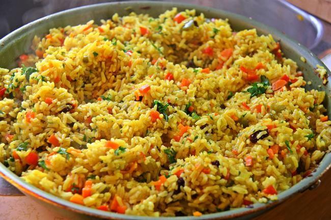 Amazing Sorfran Rice [Vegan + Gluten Free].