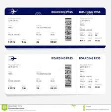 Image result for international plane ticket template
