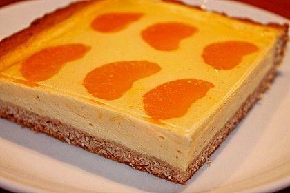 Blitz - Käsekuchen mit Mandarinen vom Blech 1