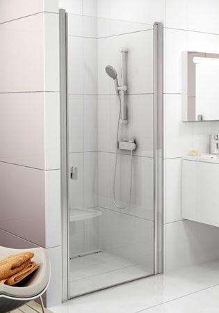 Sprchové dveře Chrome jednokřídlé 80 cm, čiré sklo