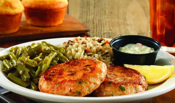 Cracker barrel copycat recipes salmon patties gonna try for Substitute for fish food