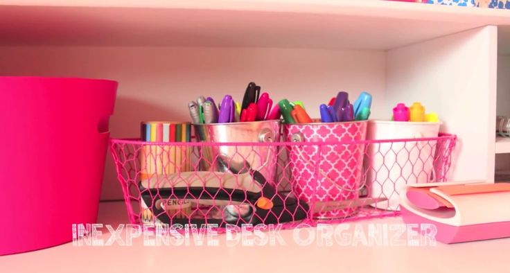 Inexpensive Desk Organizer By Bethany Mota Office Pinterest Desks Room Decor And