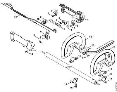 Stihl fs 85 parts diagram 392 et 078 newest capture 790 1