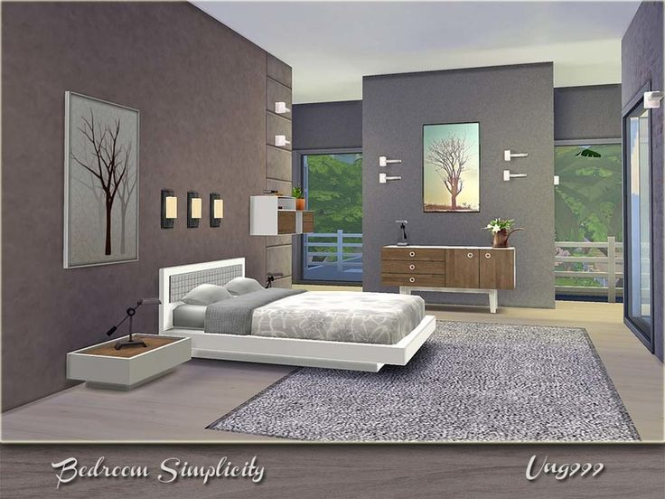 72 best sims 4 bedroom sets images on pinterest bathroom for Sims 3 master bedroom ideas