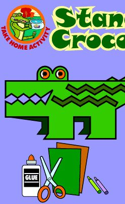 Stand-up Crocodile