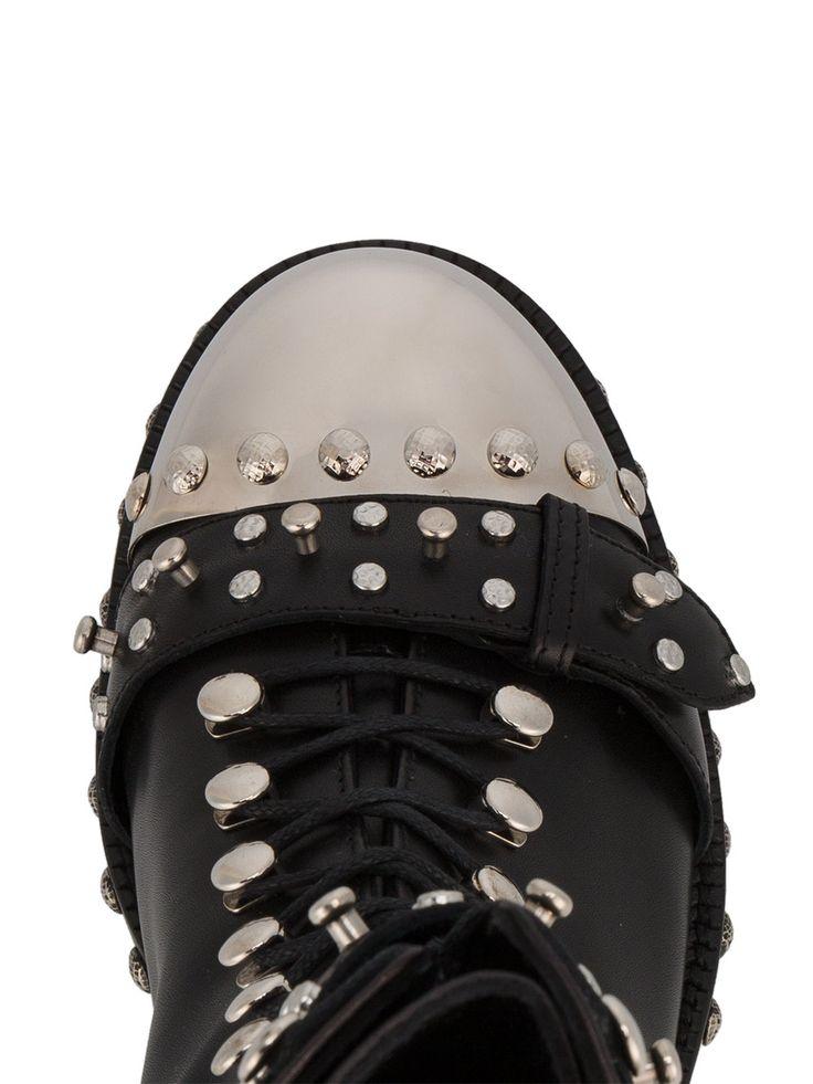 Alexander McQueen botas con apliques