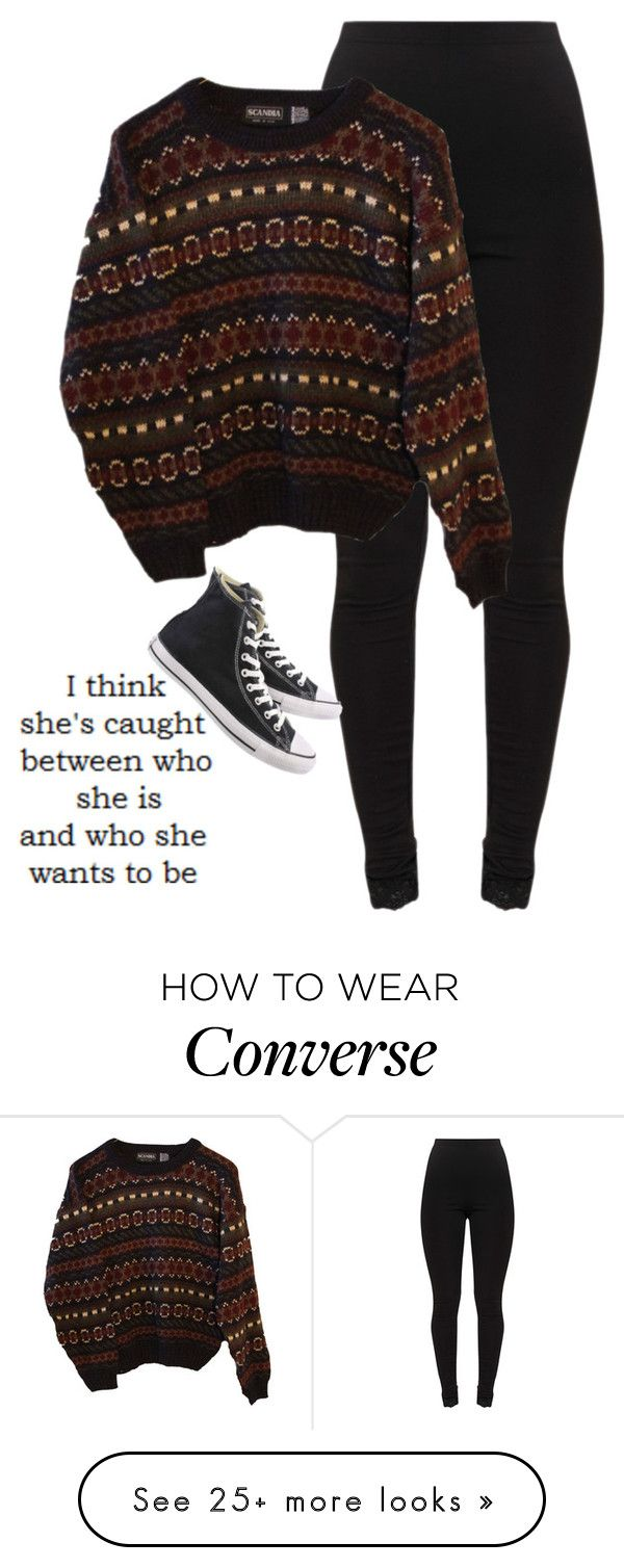 """""""She wants change"""" by lenajfam on Polyvore featuring INDIE HAIR and Converse"""