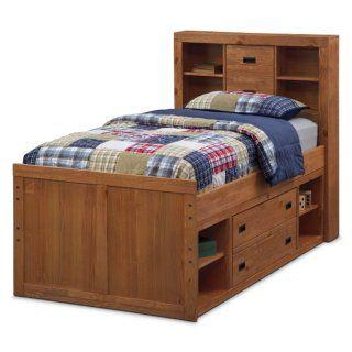 Best Alpine Captain Full Bed American Signature Furniture 400 x 300