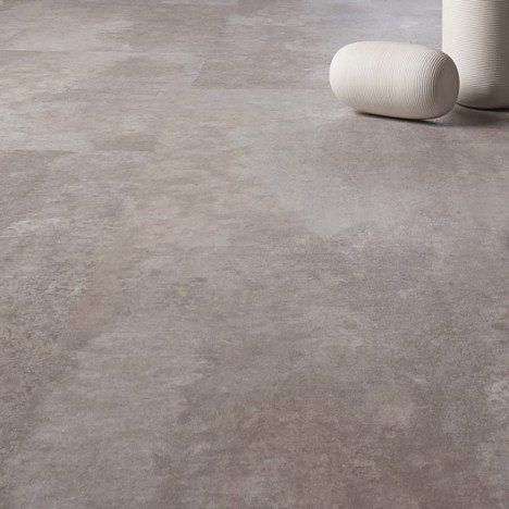 Dalle pvc clipsable gris alu knock 5g premium salle de - Dalle pvc salle de bain castorama ...