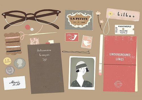Love the illustration but love the color palette even more!