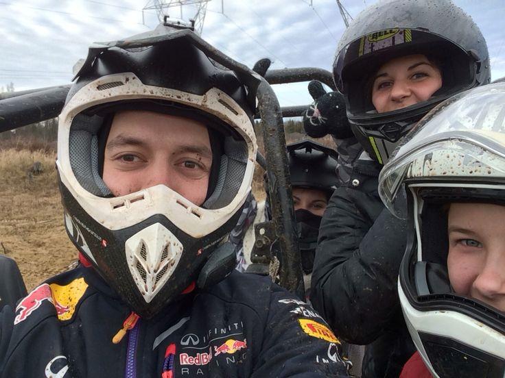 Having some fun in the RZR fourseater #CKX #TX707 rocking the carbon fiber tx707 helmet