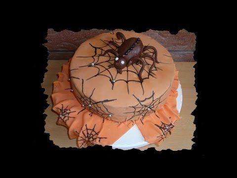 Halloween Week #7: Spinnentorte - YouTube