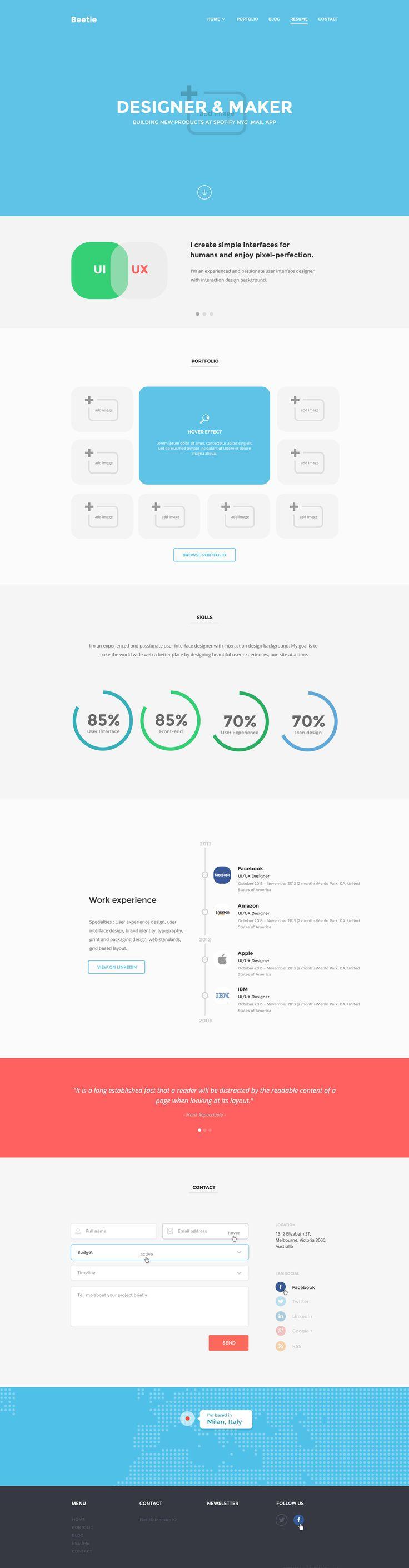 Die besten 25+ kostenlose HTML Webseite Vorlagen Ideen auf ...