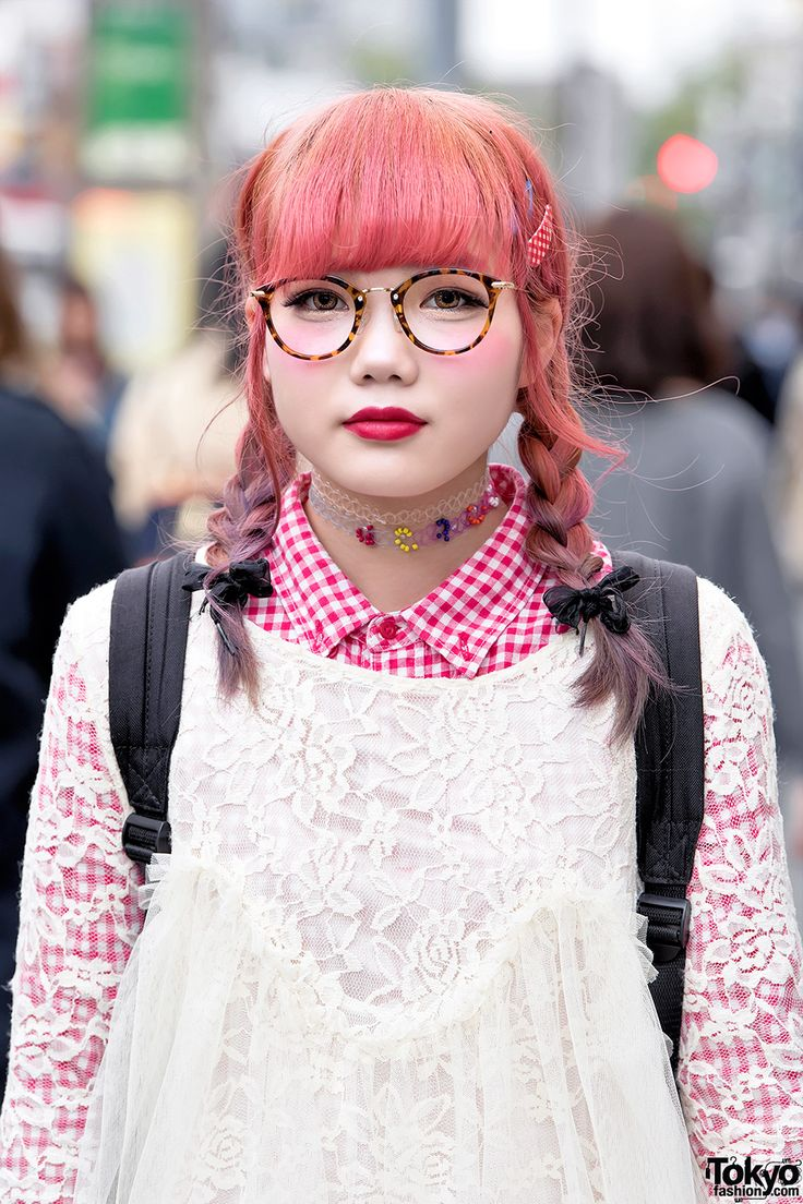 Japanese fashion, Harajuku style, Tokyo street snaps.The official Tumblr of Toky…