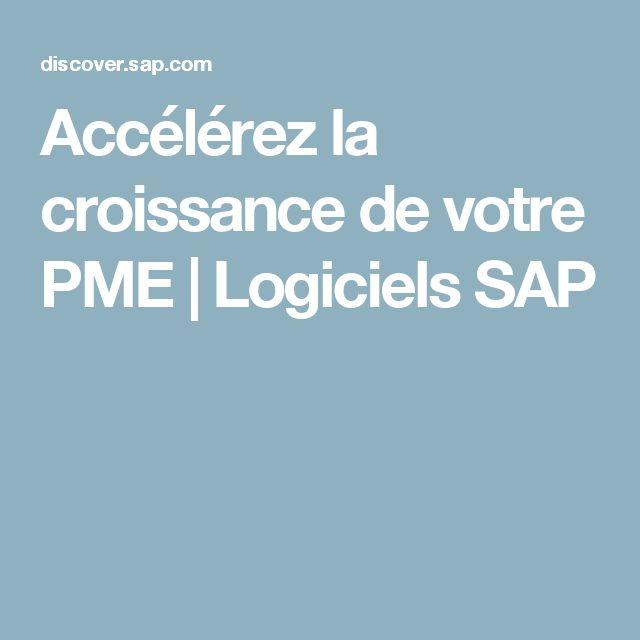 Accélérez la croissance de votre PME | Logiciels SAP
