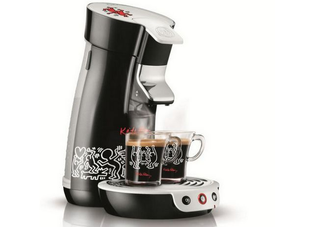 Philips limitált darabszámú SENSEO® Keith Haring kávéfőző