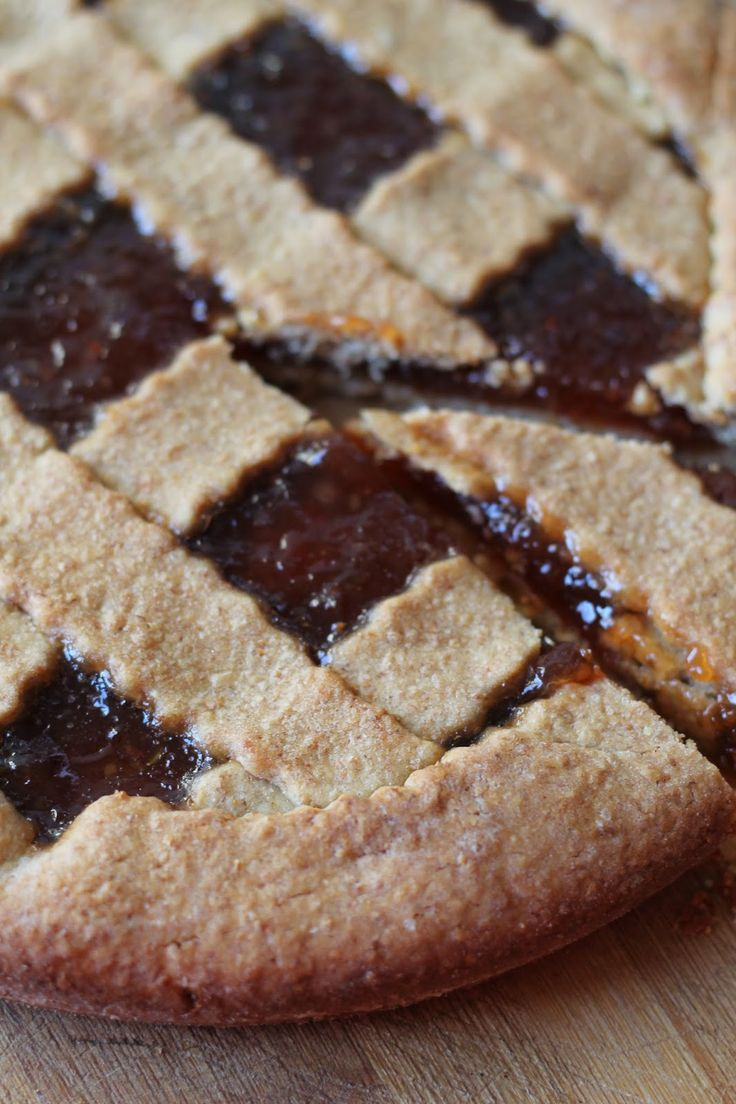 Cooking with Julia : Crostata integrale con marmellata di uva spina
