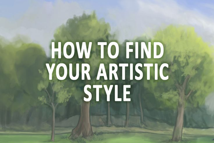 Every artist has a unique artistic style, you too! It might just be hidden. Read these tips and find your artistic style!