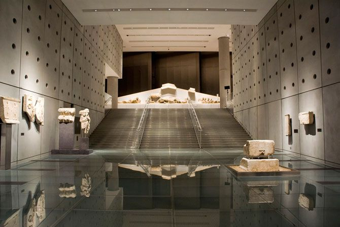 Acropolis Museum | One of the top three museums in the world. - Copyright © wondergreece.gr