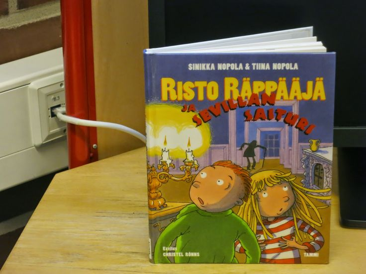 Nopola& Nopola; Risto Räppääjä ja Sevillan saituri