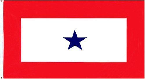 3x5 1 Blue Star Son in Service Flag 3 x 5 New Military by Military Flag. $4.65. Express Domestic Shipping is OVERNITE 98% of the time, otherwise 2-day.. 3 Foot by 5 Foot, Indoor-Outdoor, Lightweight Polyester Flag with Sharp Vivd Colors. FAST SHIPPER: Ships in 1 Business Day; usually the Same Day if pmnt clears by noon CST. Express International Shipping is Global Express Mail (2-3 days). 2 Metal Grommets For Eash Mounting with Canvas Hem for long lasting stren...
